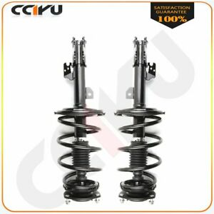 For Toyota Sienna 2007 2010 Front Complete Struts Coil Spring Set