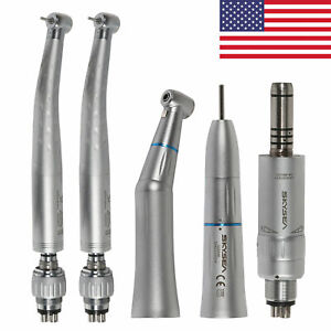 Dental High Speed Handpiece coupler Slow Inner Water Complete Kit Fit Kavo 4 h