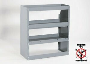 Contour Shelving With Open Back 39 Wide By American Van