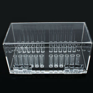 Dental Acrylic Organizer Holder Case For Orthodontic Preformed Wire Box Placing