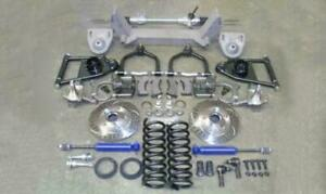 1937 1939 Chevy Truck Mustang Ii Front Suspension Kit Power 2 Drop Slotted