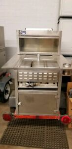 All Stainless Steel Street Hot Dog Concession Cart Used Food Vending Cart For