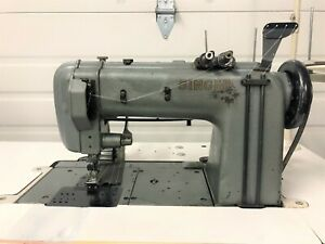 Singer 300w Two Needle Needle Feed With Puller 220v Industrial Sewing Machine