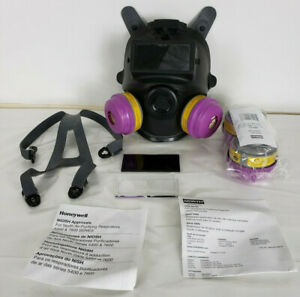 North 54001 Full Facepiece Respirator With Welding Attachment
