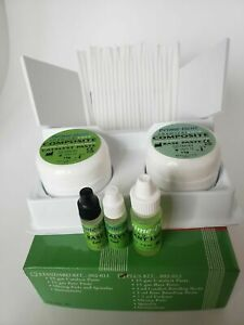 Prime Dent Dental Chemical Self Cure Composite Tooth Kit 15gm 15gm Exp 03 2023