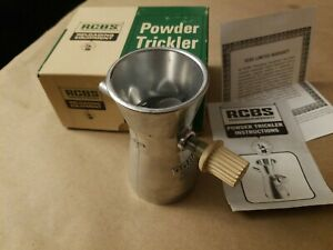 Awesome Condition! RCBS Powder Trickler 09094 Reloading Tool