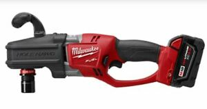 Milwaukee 2708 22 M18 Fuel Hole Hawg Brushless Right Angle Drill Kit 18 V Lith