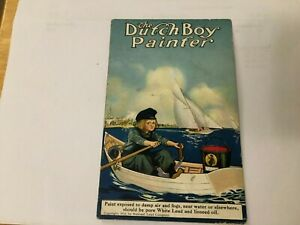 PC ADVERTISING DUTCH BOY PAINTS ROWS IN A BOAT