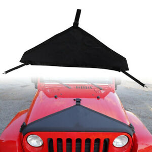 Durable Front Hood Cover Protector Accessories For 1997 2006 Jeep Wrangler Jk