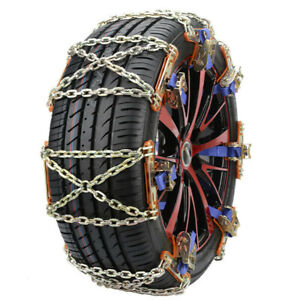 Wheel Tire Snow Anti Skid Chains For Car Truck Suv Emergency Winter Universal Fits Chevrolet