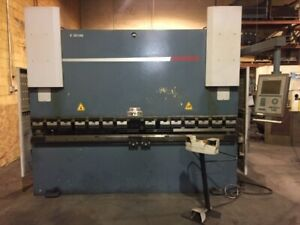 2008 Durma 160 Ton X 10ft Cnc Press Brake Model e 30160 New 2008