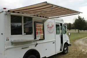 Barely Used 2004 Workhorse Stepvan Kitchen On Wheels Food Truck For Sale In Ma