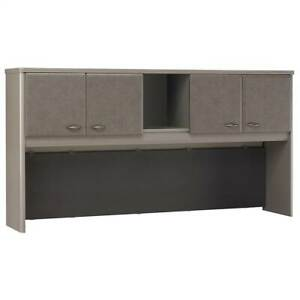 72 In Contemporary Hutch Series A In Pewter id 3373