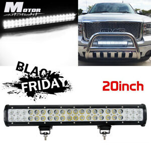 20 Inch 126w Led Work Light Bar Combo Driving Offroad 4wd Ford Truck Atv Ute 22