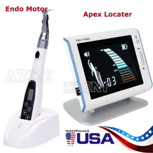 Dental Mini Reduction 16 1 Contra Angle Endo Motor woodpecker Style Apex Locator