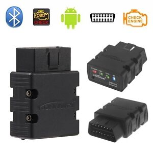 Obd2 Obdii Car Diagnostic Bluetooth Scanner Torque Auto Scan For Android