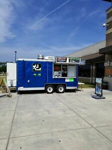 7 5 X 20 2005 Wells Cargo Food Concession Trailer Mobile Kitchen For Sale In