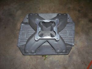 Indy Big Block Mopar Intake With Valley Plate 4500 440 14 3