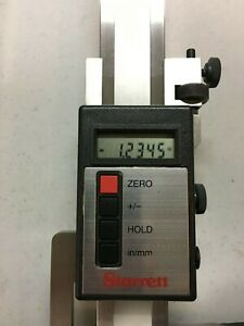 Starrett 752a 24 Electronic Digital Height Gage