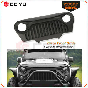 1x Front Grille Bumper Grill For 1997 2006 Jeep Wrangler Tj Black New