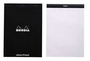 Rhodia No 18 Notepad Black Dot Grid 8x11 New