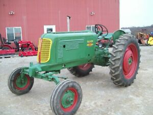 Oliver 70 Tractor Wide Front New Tires Runs Good