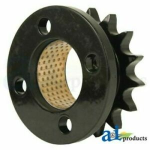 Case new Holland Hay Baler Sprocket W Bushing jaw Clutch 15t 87047932 86624640