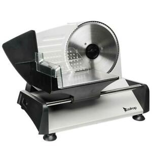 Commercial Home Electric Meat Slicer Blades 7 5 Bread Deli Food Cutter 0 15mm