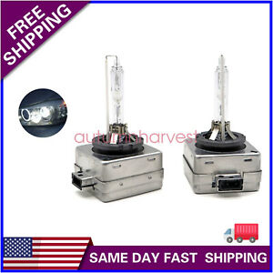 Hid Xenon D1s Two Bulbs Head Light 6000k White Bi Xenon Replace Low High Beam