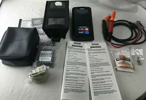 Midtronics Dm 3200 Digital Battery Analyzer Infrared Receiver Cords Leads