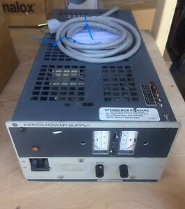 Kepco Jqe 25 20m Half Rack Power Supply Voltage Stabilizing Current Limiting