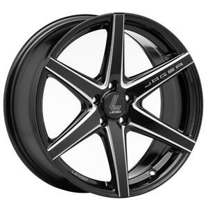 Lenso Wheel Jager Craft 17x75 5x100 Offset 35 For Honda
