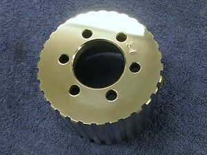 New 1 2 Pitch 31 Tooth Blower Supercharger Pulley Altered Gasser Chevy 671 471