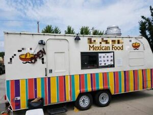Used Thor Multi functional Food Concession Trailer In Great Working Condition Fo