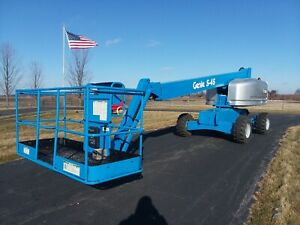 51 Ft 2006 Genie S45 4x4 Manlift Bucket Telescopic Boom Truck With 1 193 Hours
