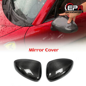 2pcs Carbon Side Rearview Mirror Stick Cover For Mx5 Nd Nd5rc Miata Roadster
