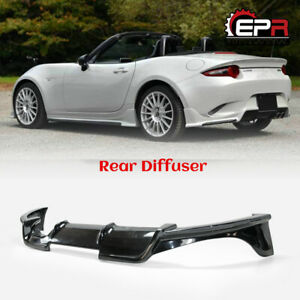 For Mazda Mx5 Nd5rc Miata Roadster Esq Style Frp Rear Diffuser Under Wing Kit