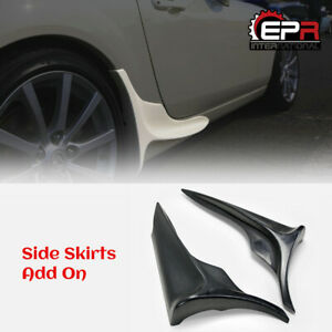 For Mx5 Miata Roaster Nc 2 3 Iko Style Frp Side Skirts Mudguard Addon Diffuser