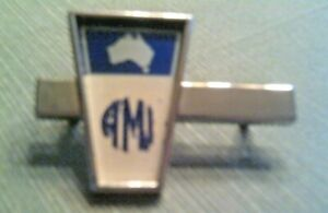 Am Amc American Motors Rare Nos ami Australian Emblem Used On Only Limited s