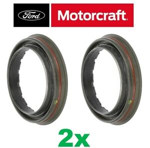 2 Motorcraft Rear 10 5 Axle Wheel Bearing Seal Left Right For Ford F250 F350