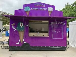Used 2018 6 5 X 14 Food Concession Trailer concession Stand In Great Shape F