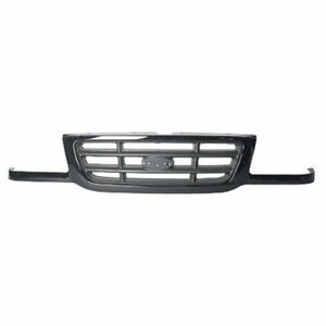 For 2001 2002 2003 Ford Ranger Front Grille Dark Argent Bar Type