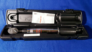 Snap on Qc2p75 Pre set Torque Wrench 23ft lbs