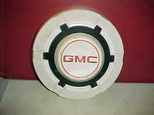 Gmc Dog Dish Bowl Hubcap 1 1969 1977 White 3 4 1 Ton Truck 12 Wheel Cover