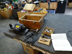 Doall Cylindrical Grinding Fixture Surface Grinder 3c Collets In Box