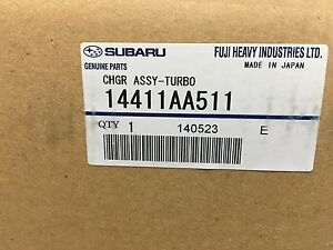 2005 2006 Subaru Outback Legacy Ihi Vf40 Turbocharger Oem New Genuine 14411aa511