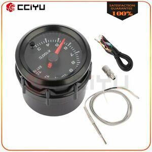 Universal Exhaust Gas Temp Gauge Led Pointer Egt Temperature Meter With Sensor