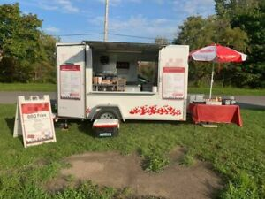 2017 6 X 12 Street Food Concession Trailer Mobile Food Unit In Great Shape F