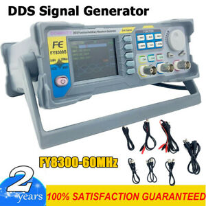 Fy8300 60mhz Function Arbitrary Waveform Pulse Dds Signal Generator 3 Channel Us