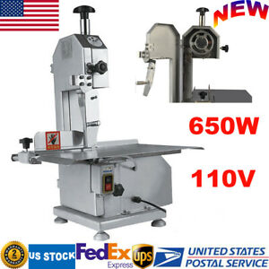 650w Commercial Electric Bone Saw Machine Meat Steak Cutting Machine Cutter 110v
